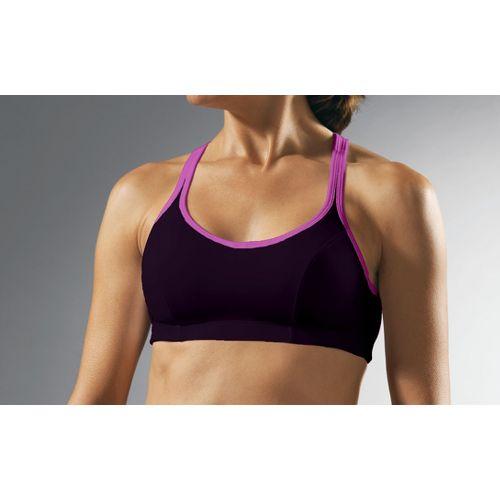Womens Champion Shape T-Back Sports Bra - Dark Purple 34B