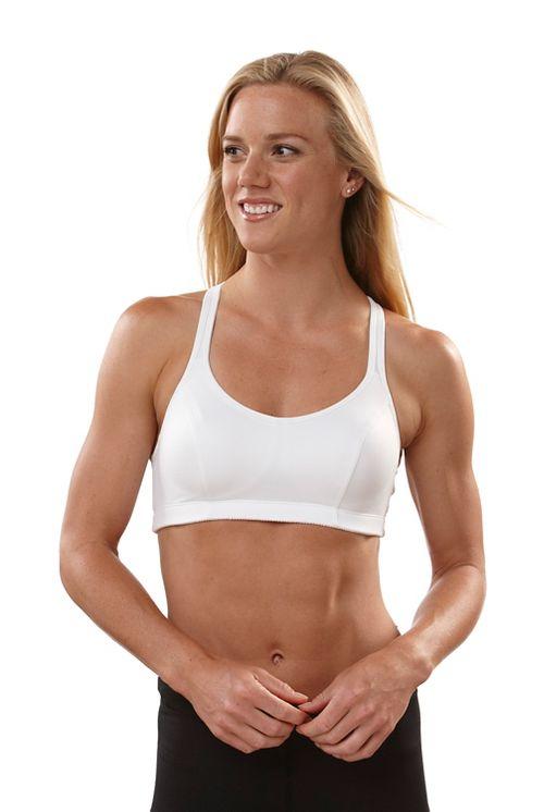 Womens Champion Shape T-Back Sports Bra - White 32A