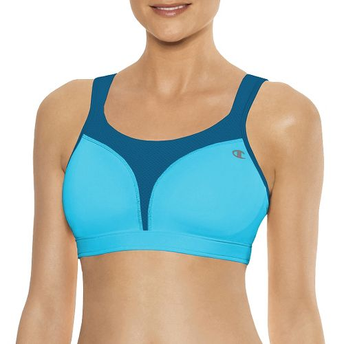 Womens Champion Spot Comfort Full Support Sports Bra - Light Sky Blue 36DD