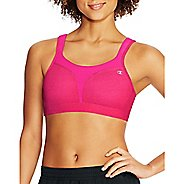 Womens Champion Spot Comfort Full Support Sports Bra - Pop Art Pink Heather 42C
