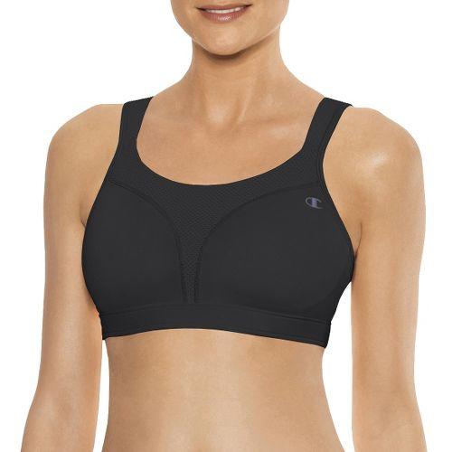 Womens Champion Spot Comfort Full Support Sports Bra - Black 40DD
