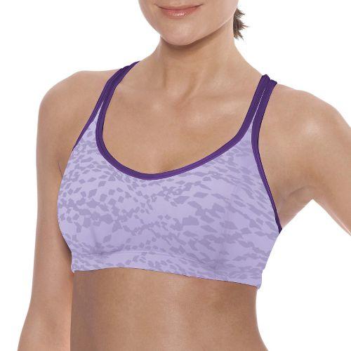 Womens Champion Printed Shape T Back Sports Bra - Purple 38B