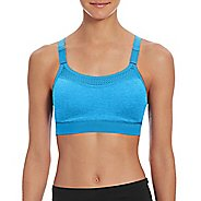 Womens Champion The Show-Off Sports Bra - Hydro Heather M