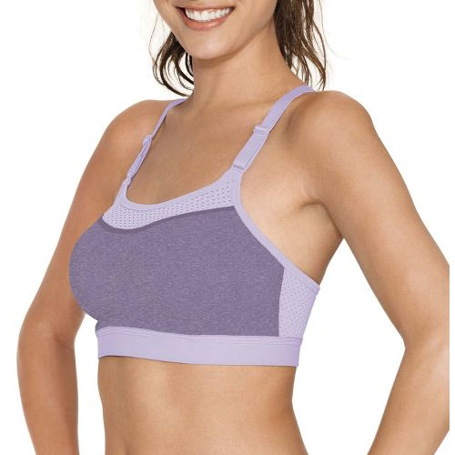 Womens Champion The Show-Off Sports Bra - Purple Lilac XL