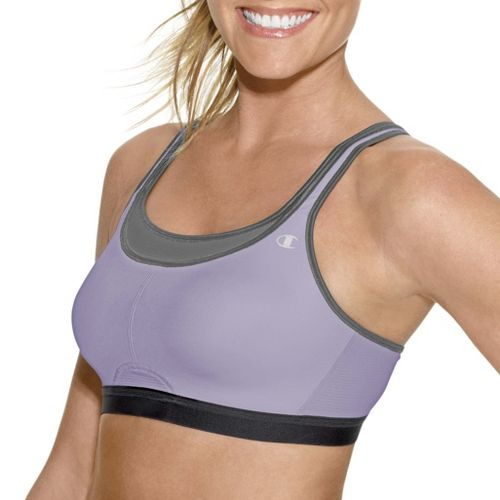 Womens Champion All-Out Support Sports Bra - Purple/Mist 38C