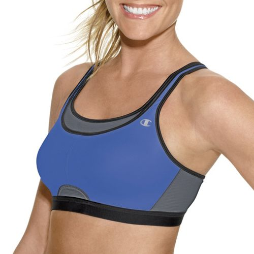 Womens Champion All-Out Support Sports Bra - Starlight Blue 36D