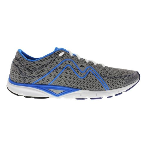 Mens Karhu Flow3 Trainer Fulcrum Running Shoe - Fog/Light Blue 12