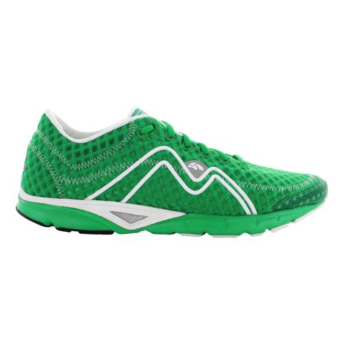 Mens Karhu Flow3 Trainer Fulcrum Running Shoe - JB Green/White 8