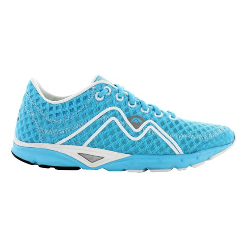 Womens Karhu Flow3 Trainer Fulcrum Running Shoe - Blue Atoll/Deep Navy 8