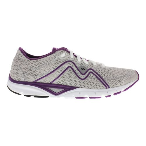 Womens Karhu Flow3 Trainer Fulcrum Running Shoe - Cloud/Deep Purple 8