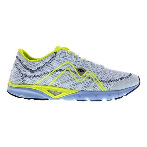 Womens Karhu Flow3 Trainer Fulcrum Running Shoe - Light Blue/Scream 9.5