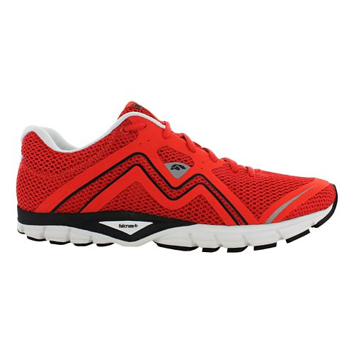 Mens Karhu Fluid3 Fulcrum Running Shoe - Red/Black 8.5