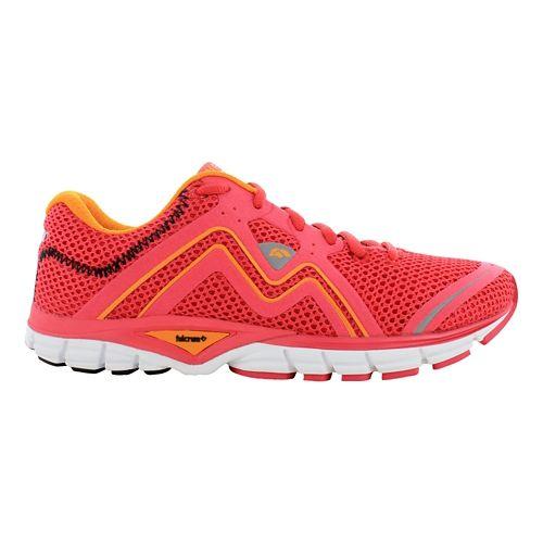 Womens Karhu Fluid3 Fulcrum Running Shoe - Hibiscus/Tiger 6