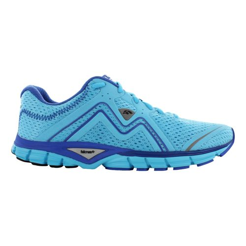Womens Karhu Fluid3 Fulcrum Running Shoe - Coral/Blue 11