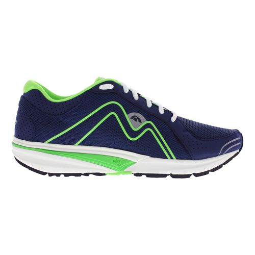 Mens Karhu Fast4 Fulcrum Running Shoe - Deep Navy/Apple 10.5