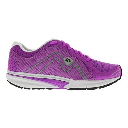 Womens Karhu Fast4 Fulcrum Running Shoe - Purple/Grey 10