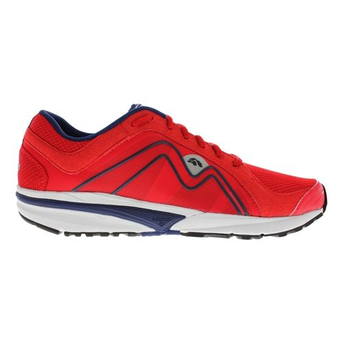 Mens Karhu Strong4 Fulcrum Running Shoe - F1 Red/Deep Navy 10