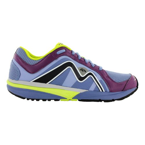 Womens Karhu Strong4 Fulcrum Running Shoe - Mist/Deep Purple 7