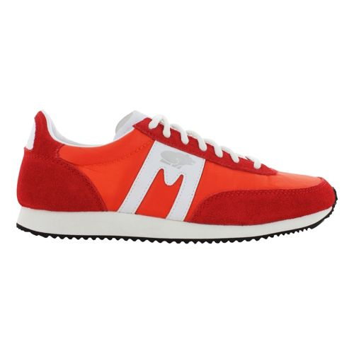 Womens Karhu Albatross Casual Shoe - Red/White 7