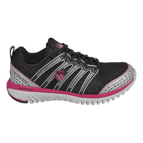 Womens K-SWISS Blade-Light Run Running Shoe - Black/Pink 8.5