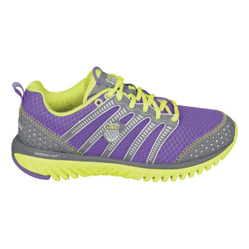 Womens K-SWISS Blade-Light Run Running Shoe - Purple/Lime 7.5