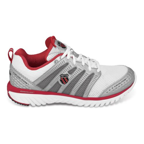 Womens K-SWISS Blade-Light Run Running Shoe - White/Red 7.5