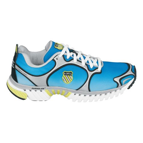 Womens K-SWISS Kwicky Blade-Light Running Shoe - Blue/Lime 10.5