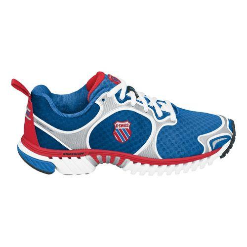 Womens K-SWISS Kwicky Blade-Light Running Shoe - Blue/Red 9.5