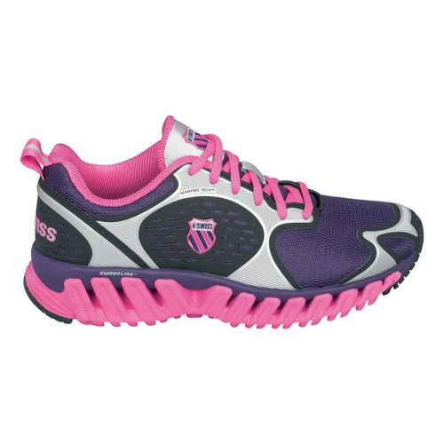 Womens K-SWISS Blade-Max Glide Running Shoe - Pink/Silver 8.5