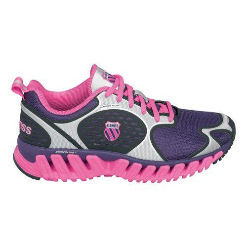Womens K-SWISS Blade-Max Glide Running Shoe - Pink/Silver 9.5
