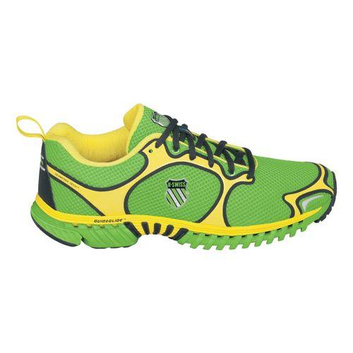Mens K-SWISS Kwicky Blade-Light N Running Shoe - Green/Yellow 11.5