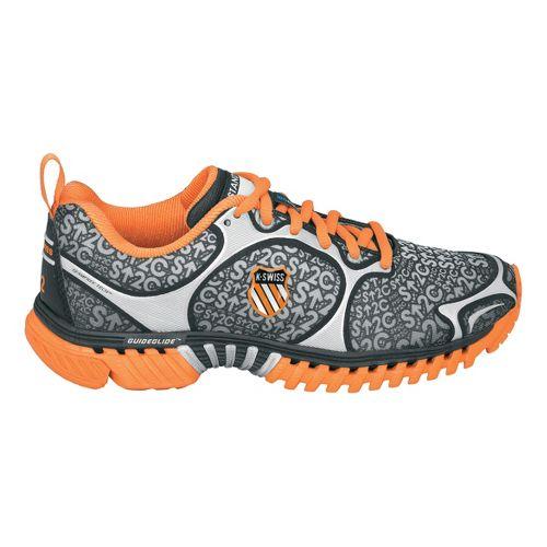 Mens K-SWISS Kwicky Blade-Light N Running Shoe - Orange/Black 11.5