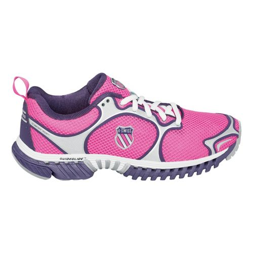 Womens K-SWISS Kwicky Blade-Light N Running Shoe - Pink/Silver 6.5