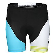 Womens K-Swiss Tri Cycling Fitted Shorts