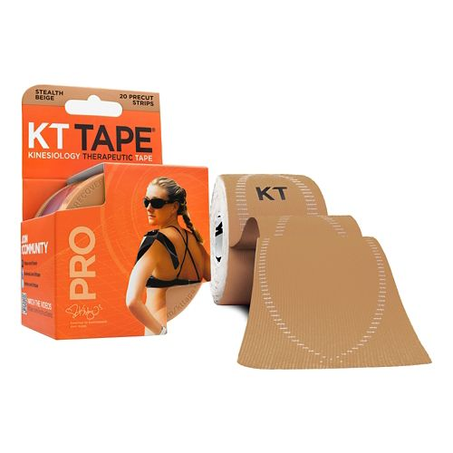 KT Tape Synthetic PRO 16ft Roll 20-strip Injury Recovery - Beige