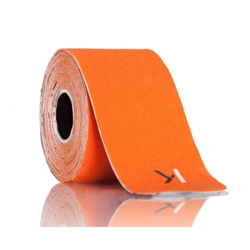 KT Tape Pro 20-strip Roll Injury Recovery - Blaze/Orange