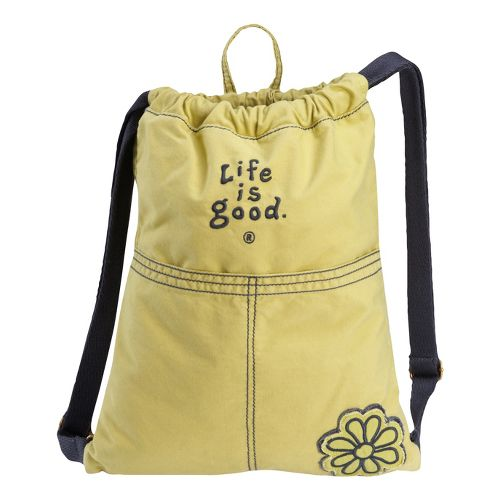 Life Is Good Essential Cinch Sack Bags - Retro Green