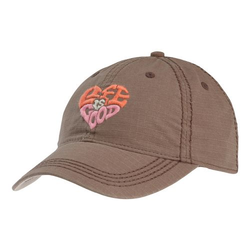Womens Life Is Good LIG Ripstop Chill Cap Headwear - Dark Brown