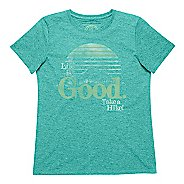 Womens Life Is Good Cool Tee Short Sleeve Technical Tops
