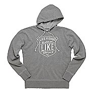 Mens Life Is Good Go-To Hoodie Warm-Up Hooded Jackets