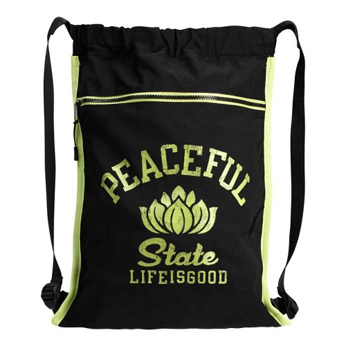 Life Is Good Sporty Cinch Bags - Peaceful State