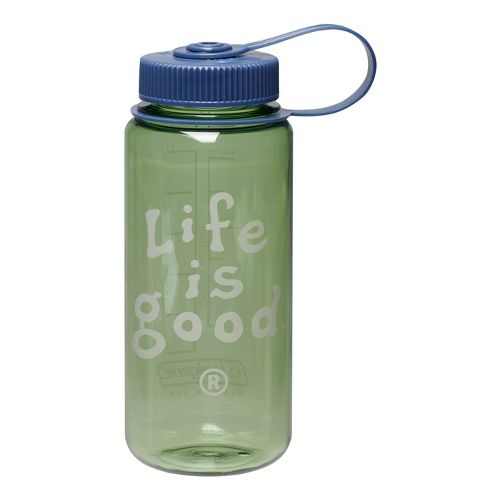 Life Is Good Water Bottle Hydration - Grass Green