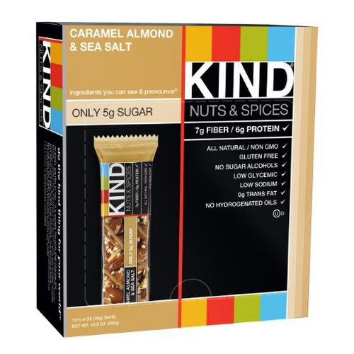 Kind Bar 12 count Box Nutrition - null
