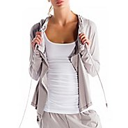 Womens Lole Vital Cardigan Warm-Up Hooded Jackets