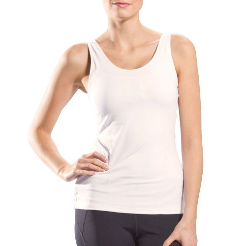 Womens Lole Silhoutte Up Tank Sport Top Bras - White XS