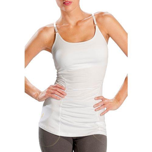 Womens Lole Breathe Tank Sport Top Bras - White S