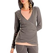 Womens Lole Meditation 2 Long Sleeve No Zip Technical Tops