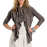 Womens Lole Relaxation Cardigan Long Sleeve No Zip Technical Tops