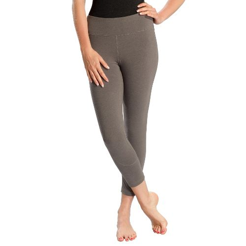 Womens Lole Vinyasa Capri Tights - Storm XS