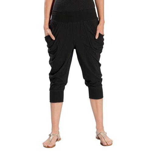Womens Lole Lotus Capri Pants - Black XL